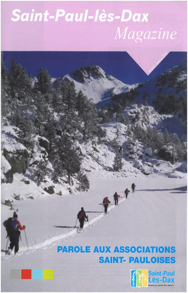 St Paul les Dax Magazine article ALR janvier 2012