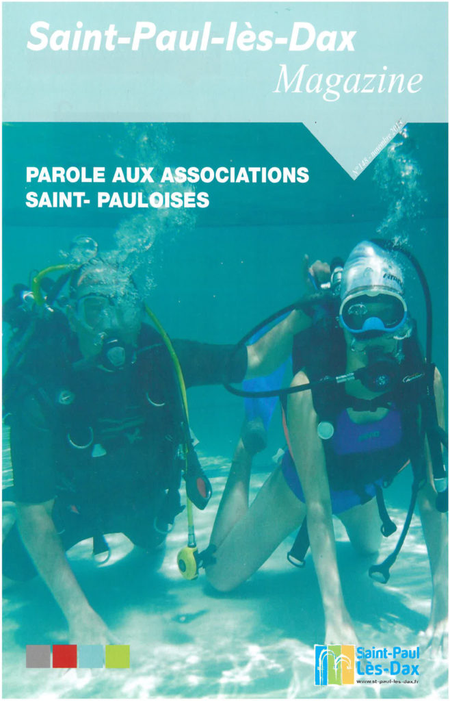 St Paul les Dax Magazine article novembre 2013