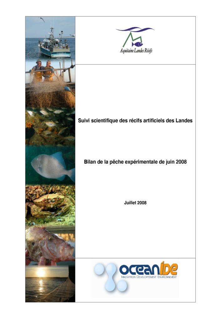 rapport peche 2008 OCEANIDE ALR