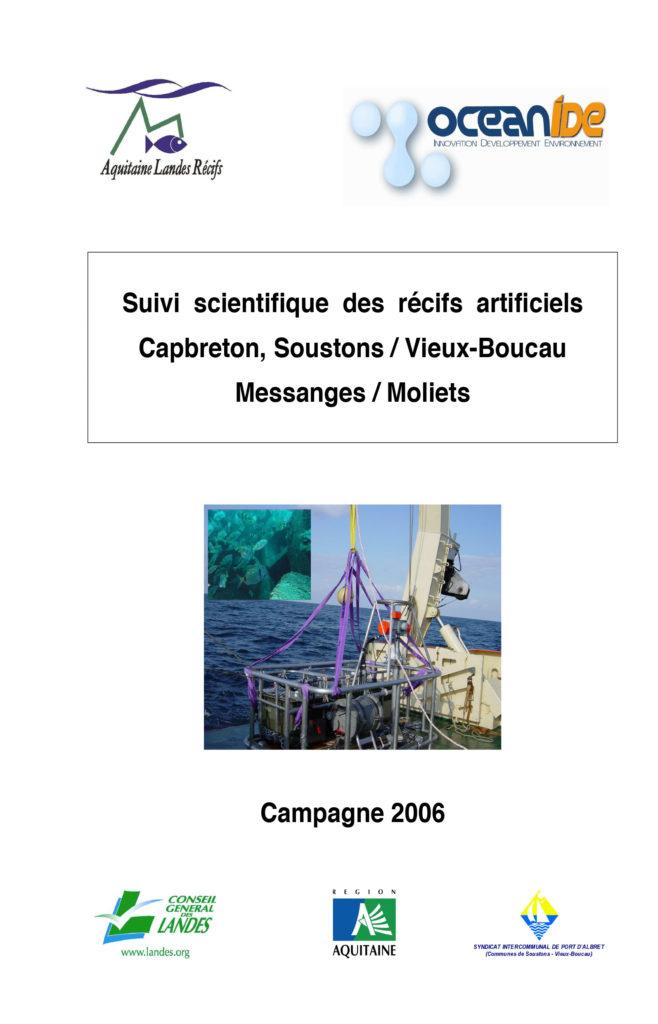 suivi recifs 2006